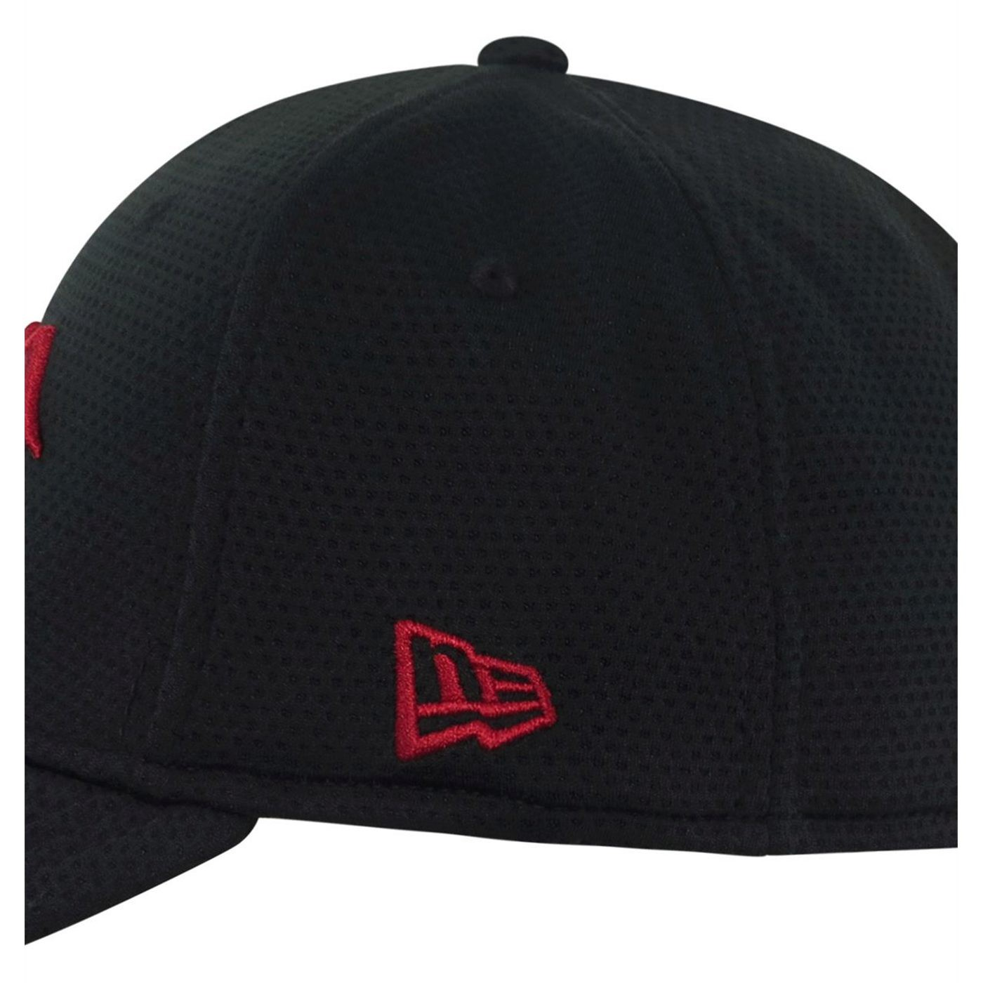 Red Hood Symbol 39Thirty Fitted Hat Black