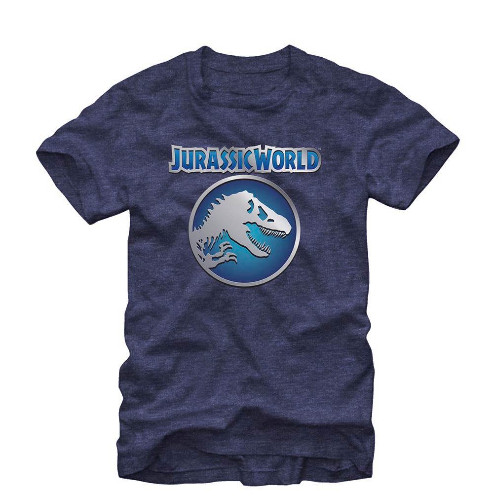 Jurassic World Emblemnation Blue T-Shirt