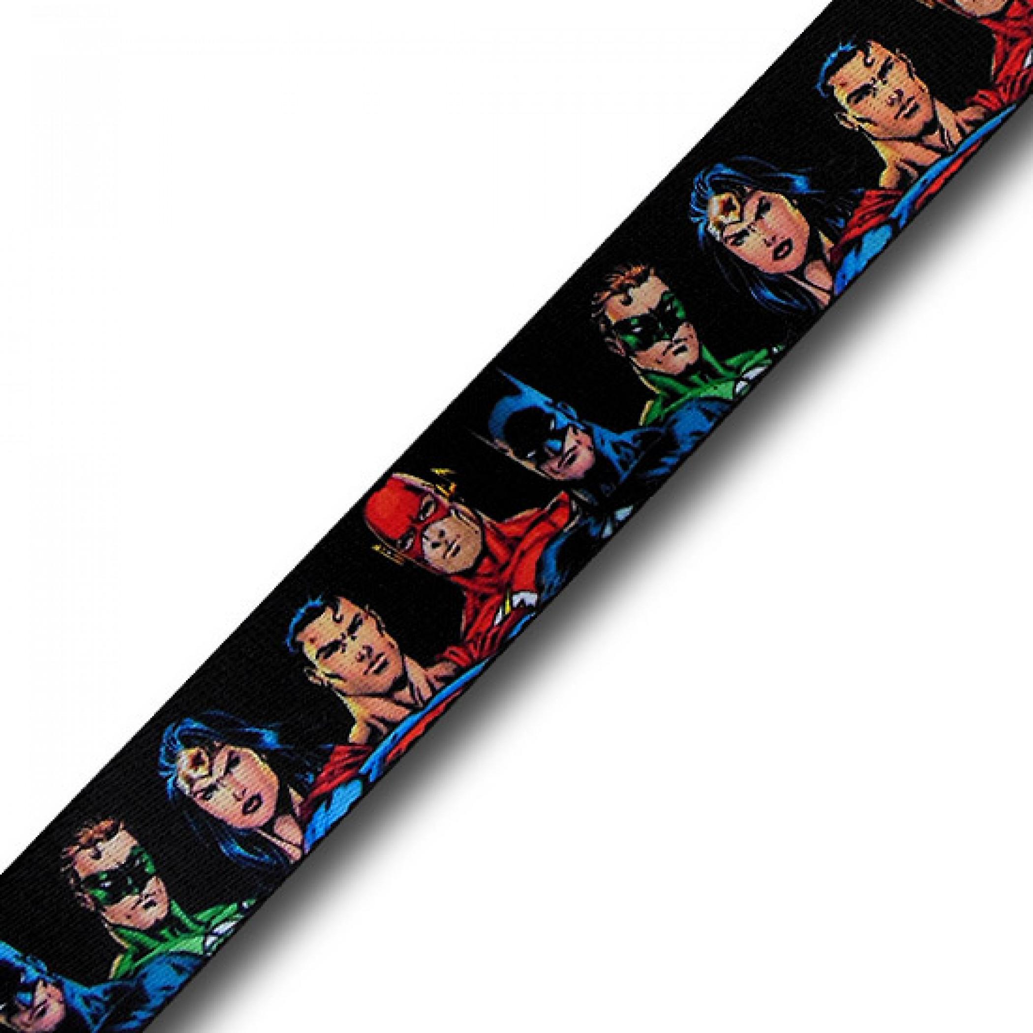 DC New 52 Lineup Adult Web Belt
