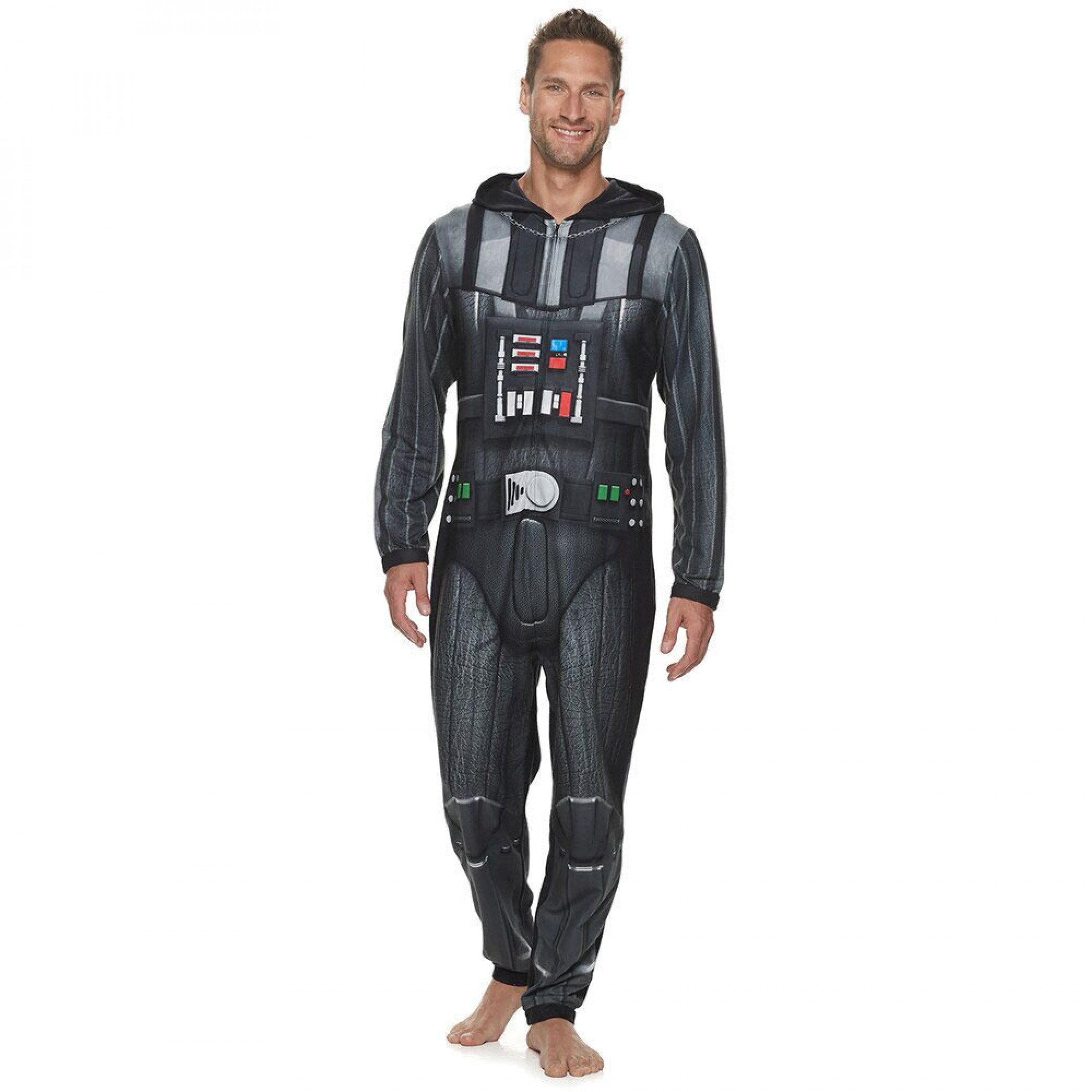 Star Wars Darth Vader Micro Fleece Union Suit