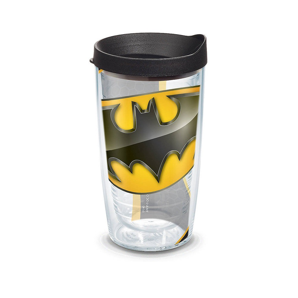 Tervis Batman Logo 16 Ounce Tumbler With Lid