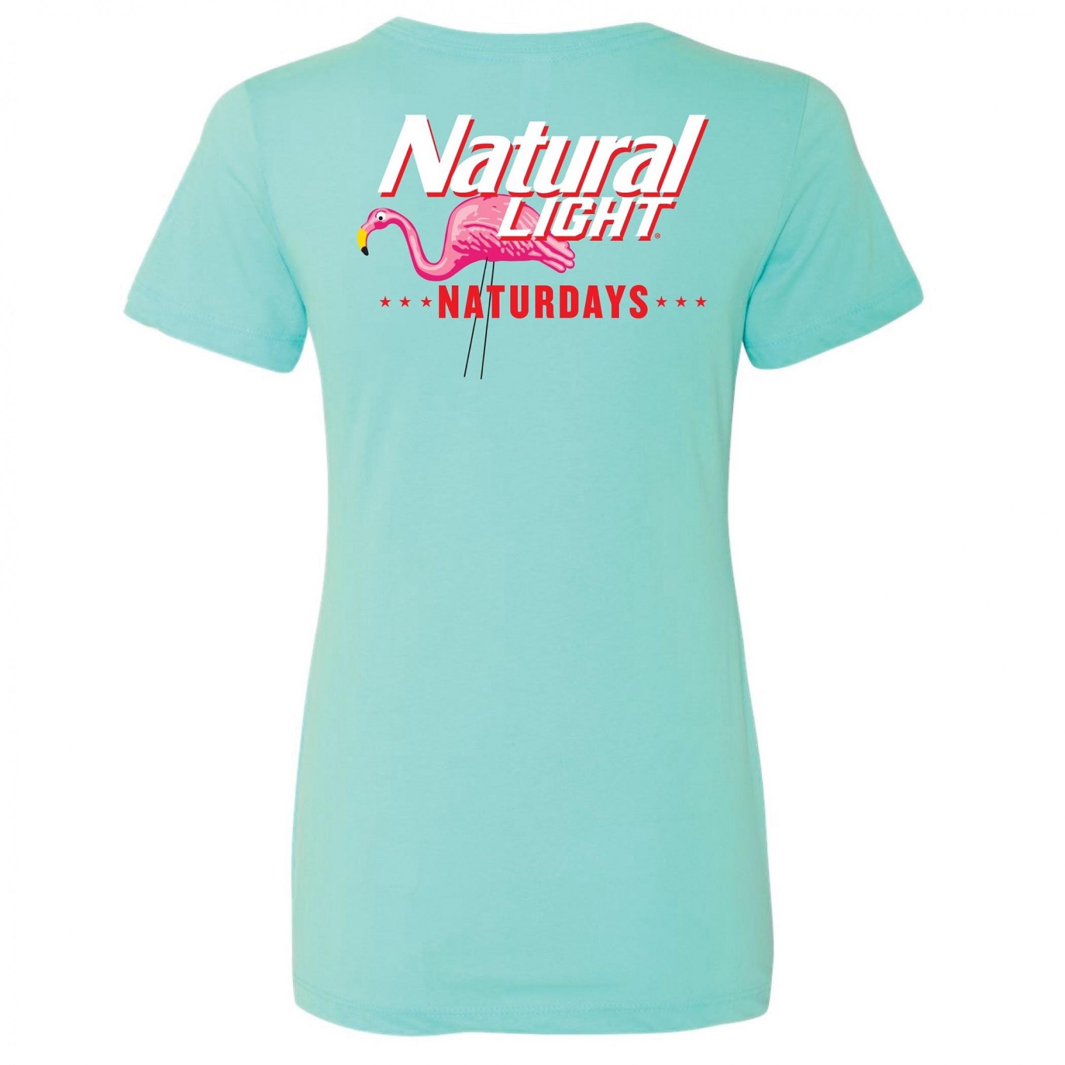 Natural Light Naturdays Flamingo Women's T-Shirt