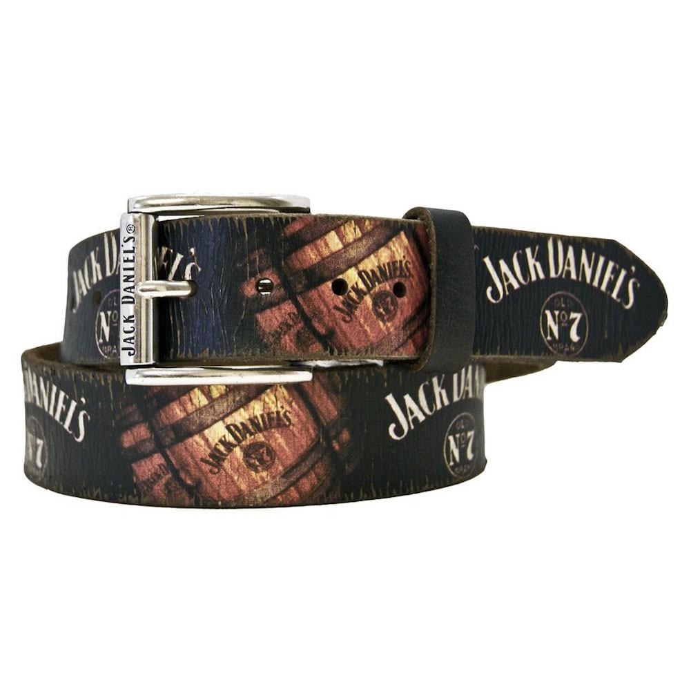 Jack Daniels Barrels Print Belt