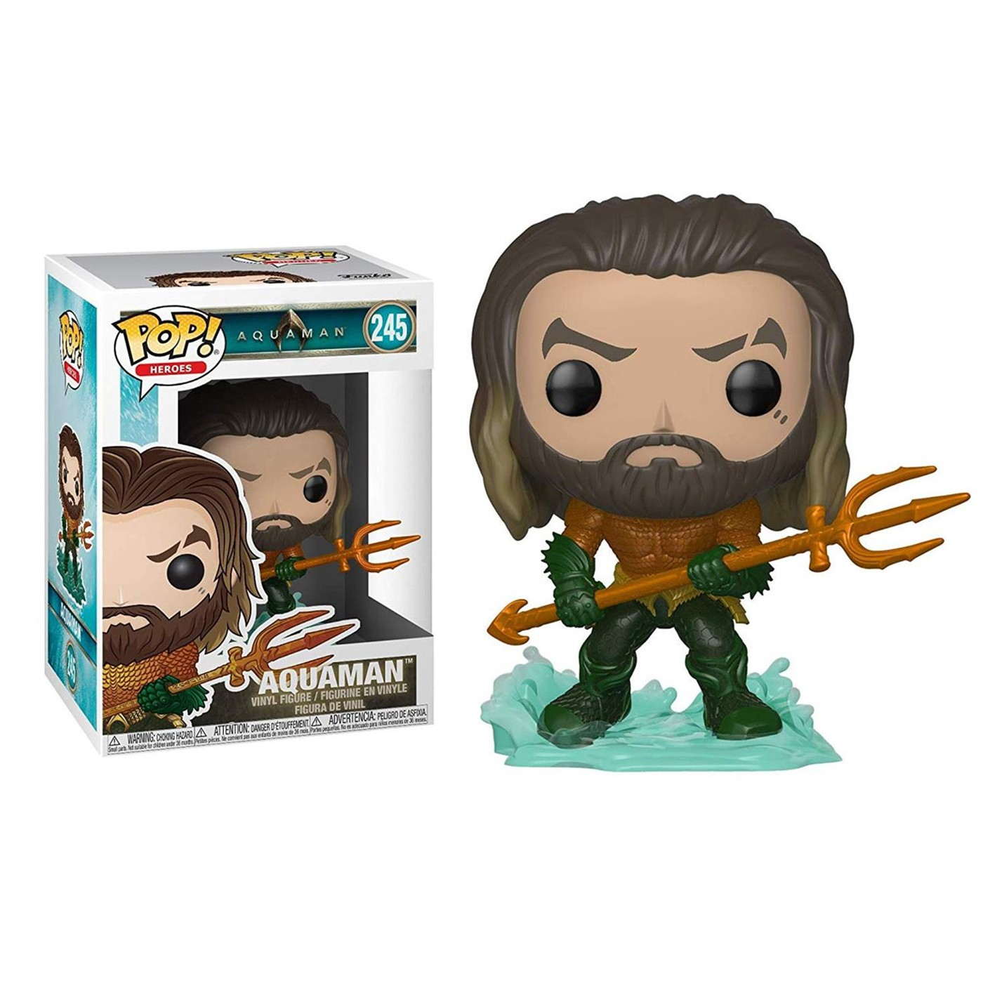 Auther Curry Hero Aquaman Movie Funko Pop Vinyl Figure
