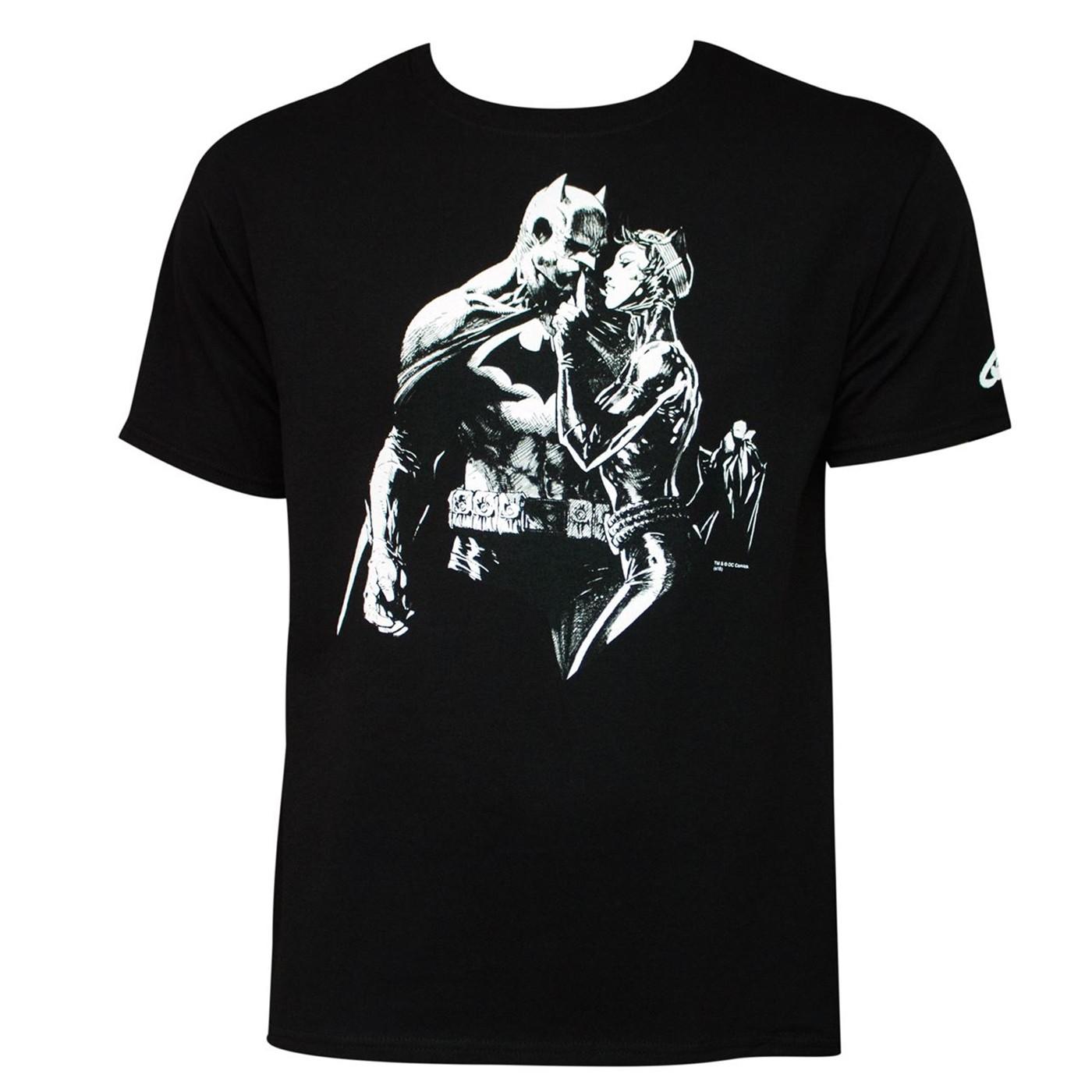 Batman: Hushhhhh T-Shirt by Jim Lee