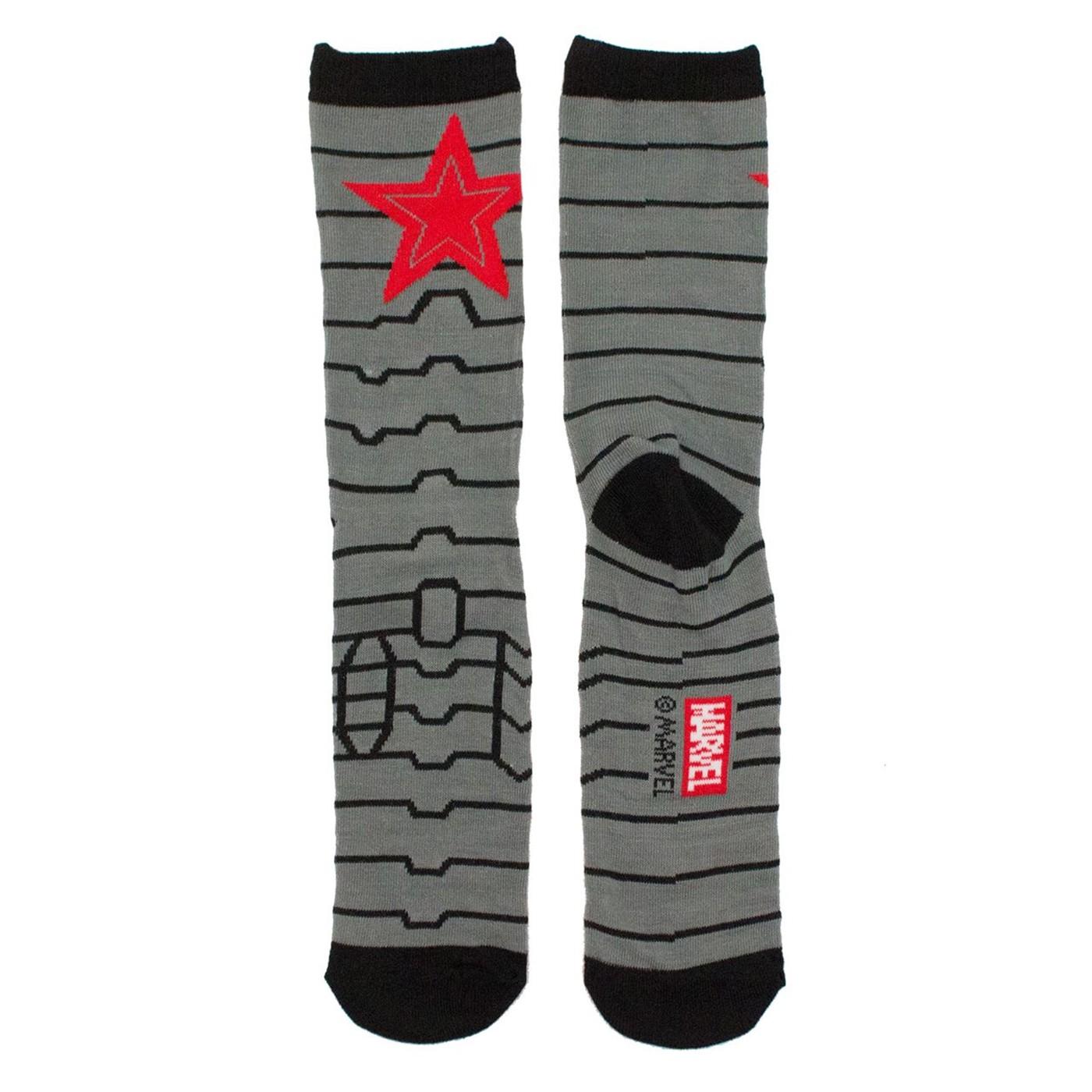 Winter Soldier Crew Socks