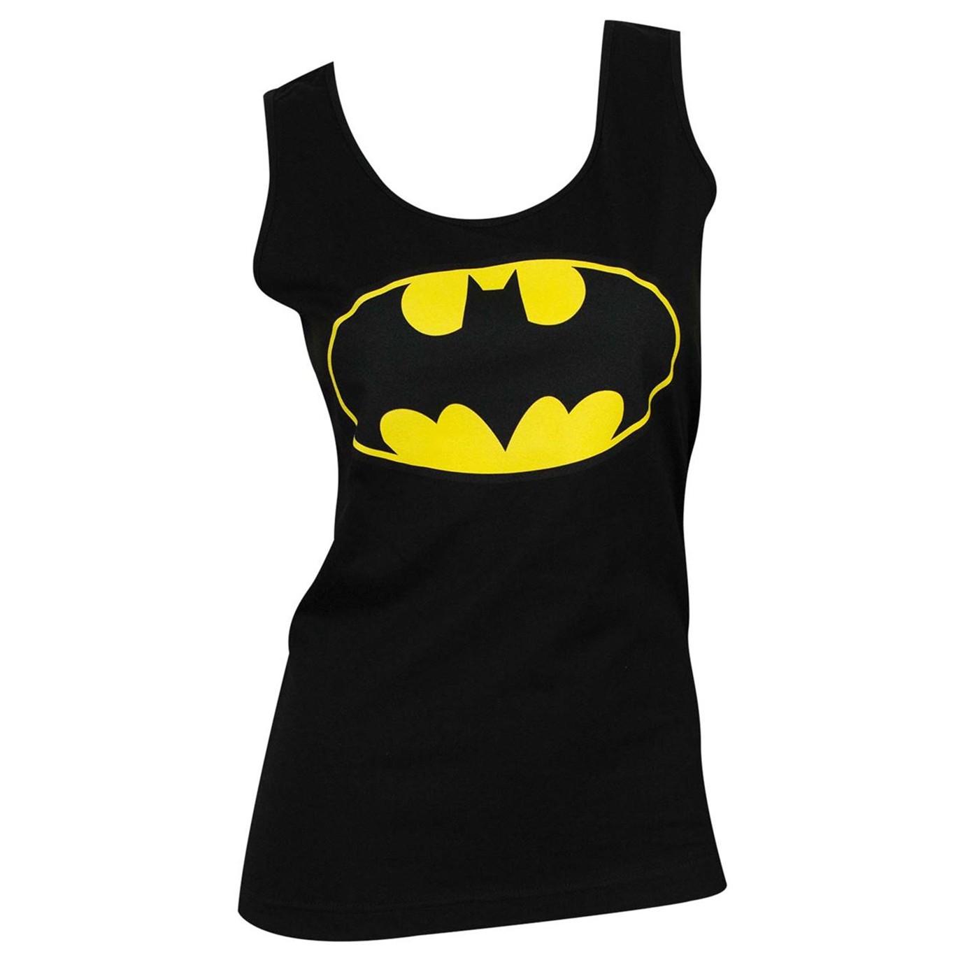 Batman Classic Logo Women's Tank Top