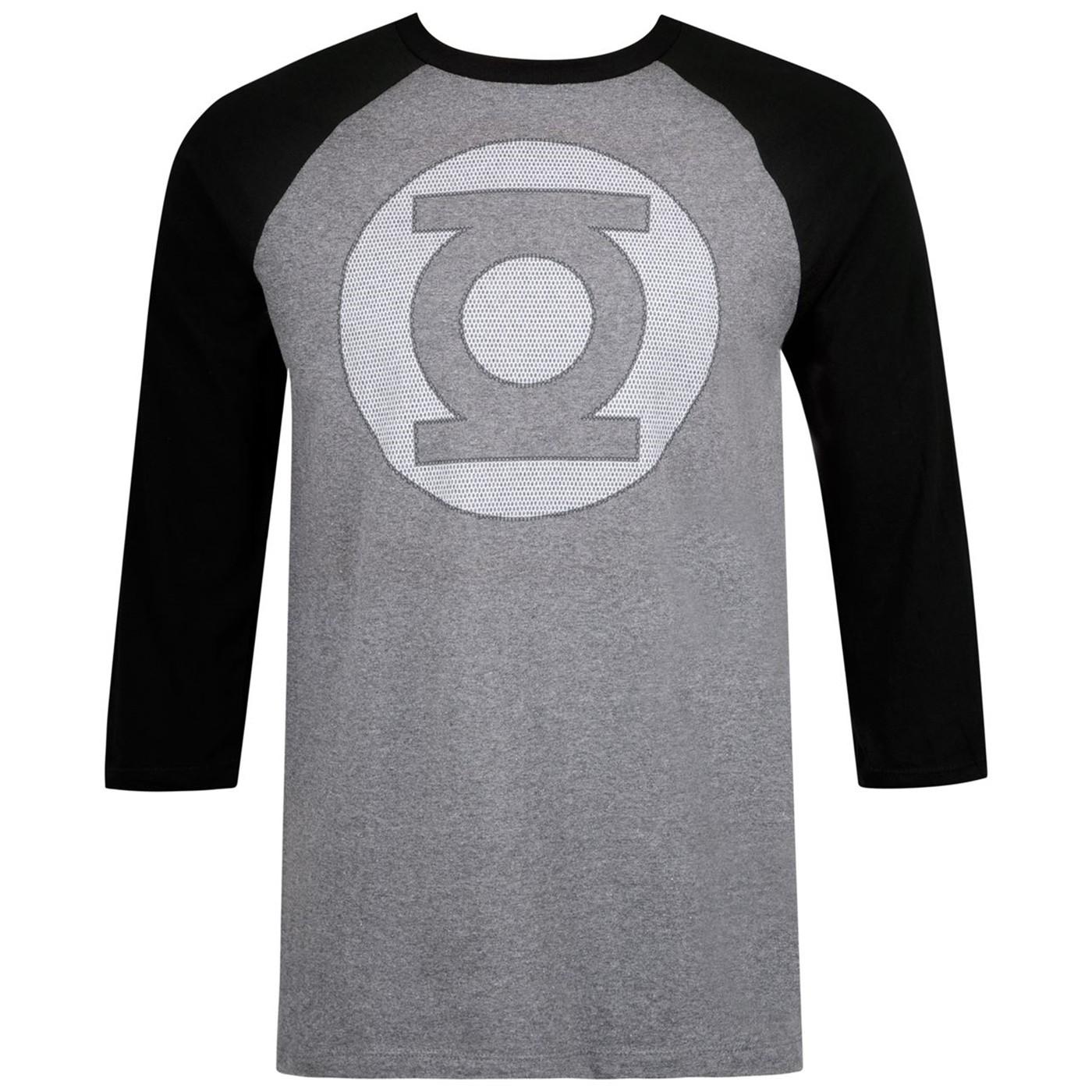 Green Lantern Symbol Baseball Raglan T-Shirt