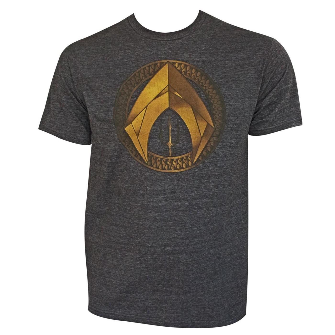 Aquaman Movie Symbol Men's T-Shirt