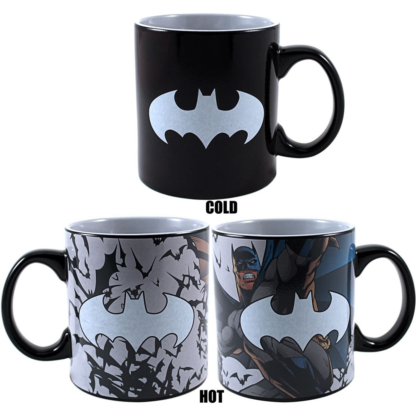 Batman Heat Reveal 20 Ounce Mug
