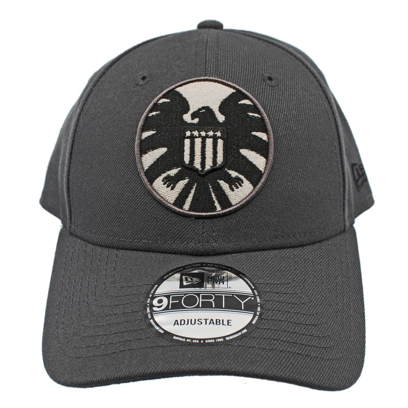 SHIELD Graphite New Era 9Forty Adjustable Hat