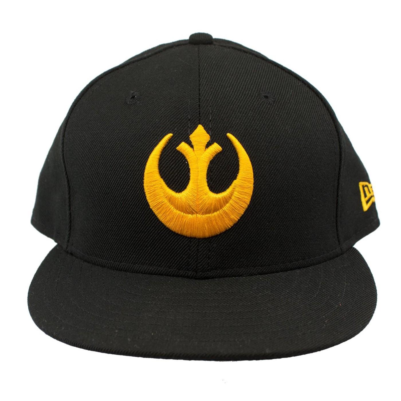 Star Wars Yellow Rebel Symbol New Era Adjustable Snapback