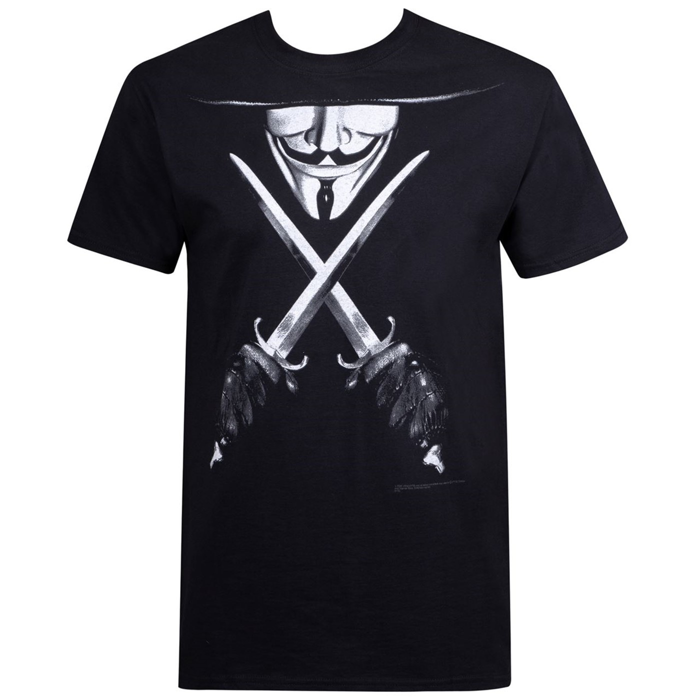 V for Vendetta Crossed Daggers Men's T-Shirt