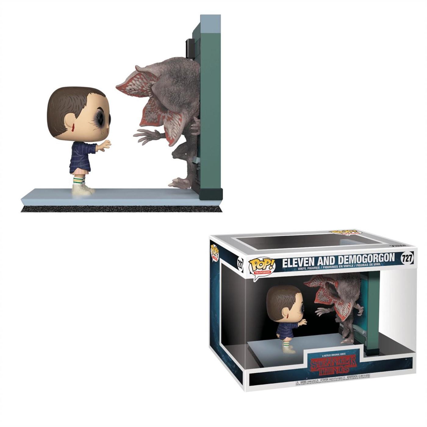 Stranger Things Eleven vs Demogorgon