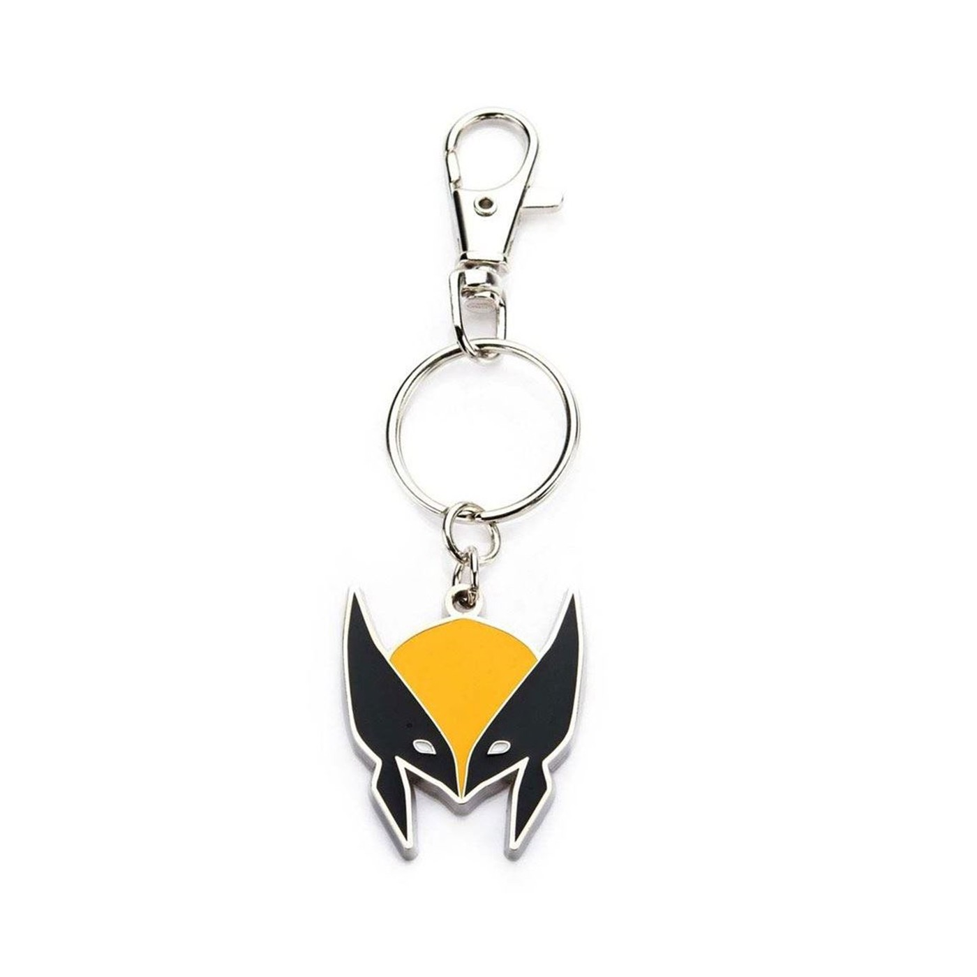 Marvel Base Metal Wolverine Logo with Stainless Steel Key Chain