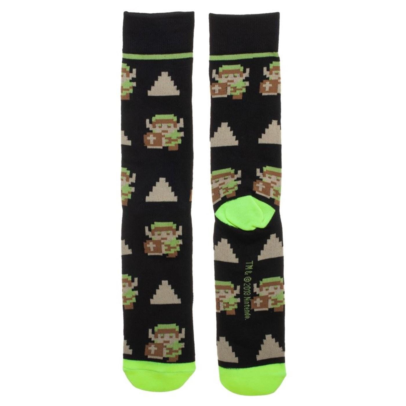 Nintendo Game Console 3 pack Crew socks