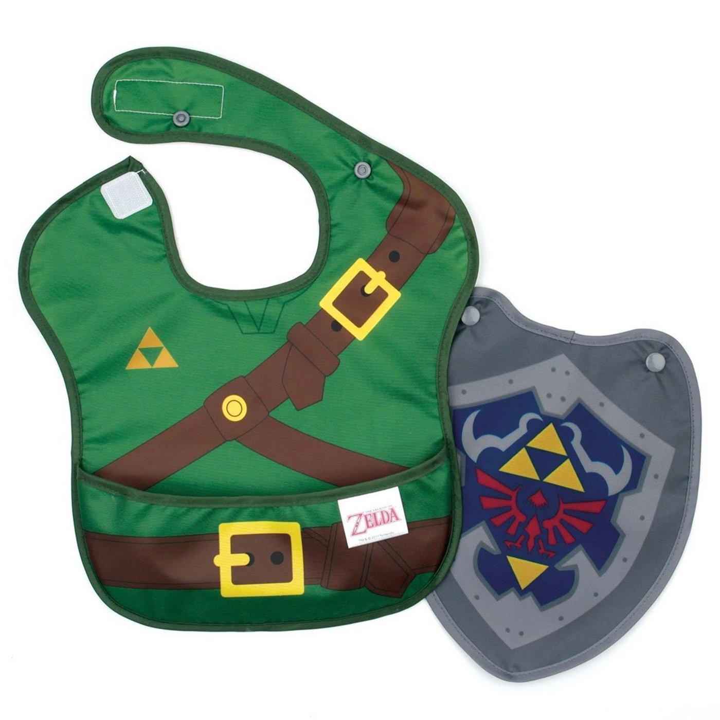 Legend of Zelda Link Costume Sleeved Bib