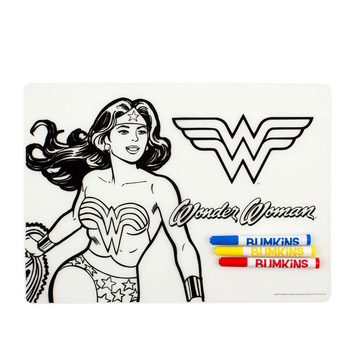 Wonder Woman Dry Erase Placemat
