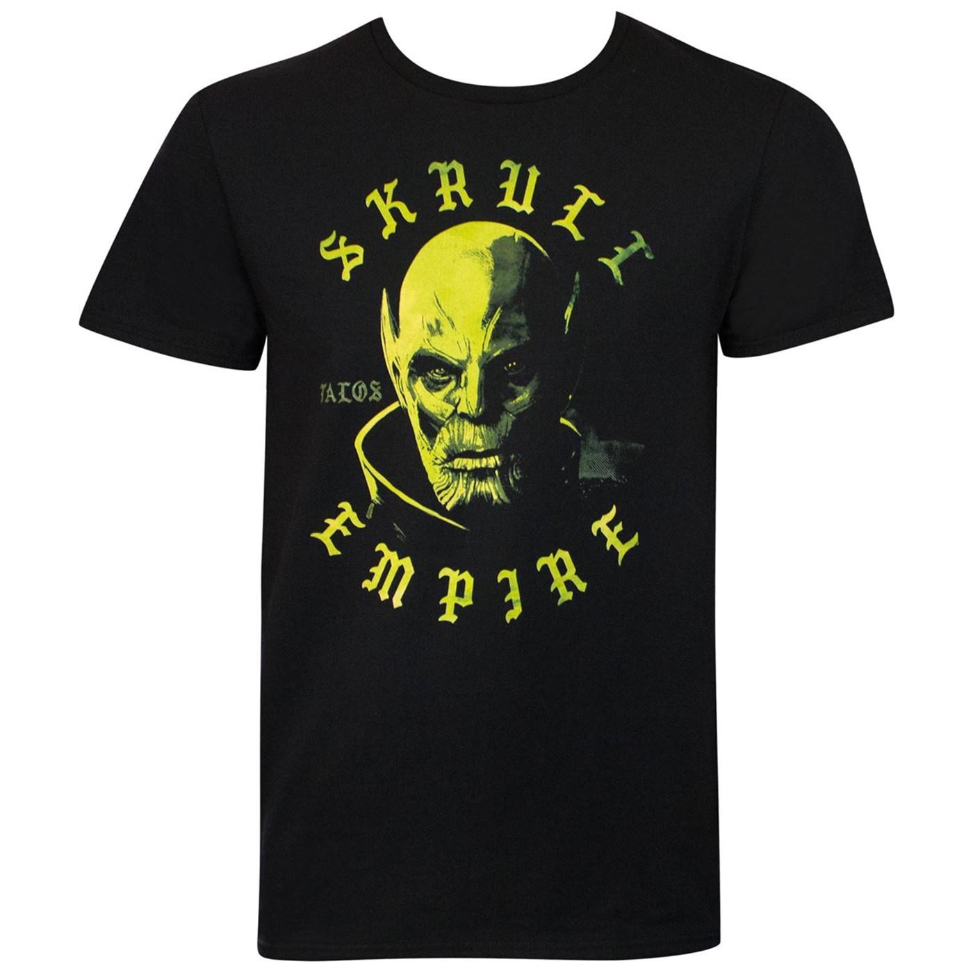 Skrull Empire Captain Marvel Movie Men's T-Shirt