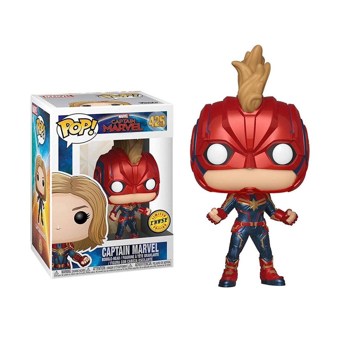 Pop! Marvel: Captain Marvel - Captain Marvel Chase