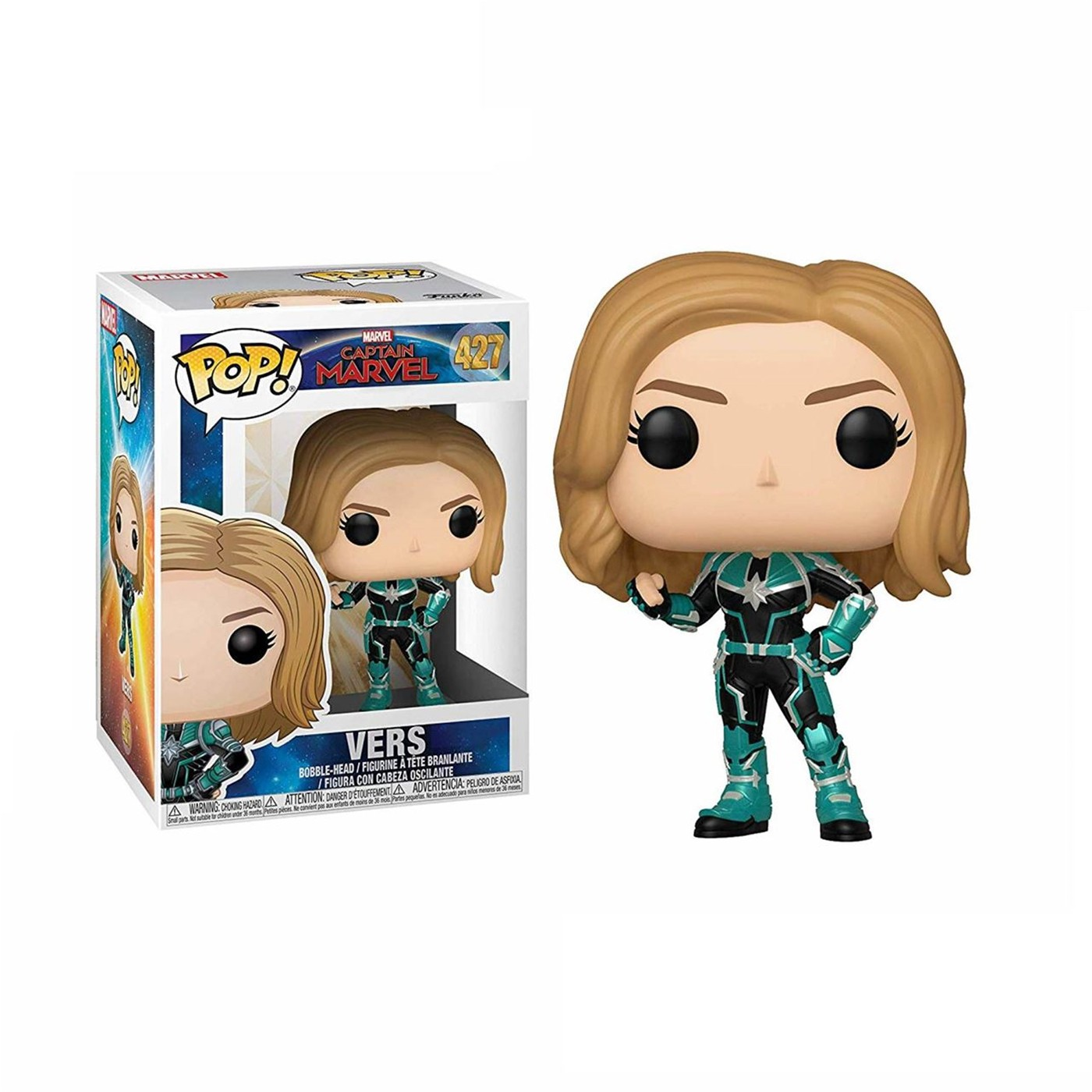 Pop! Marvel: Captain Marvel - Vers