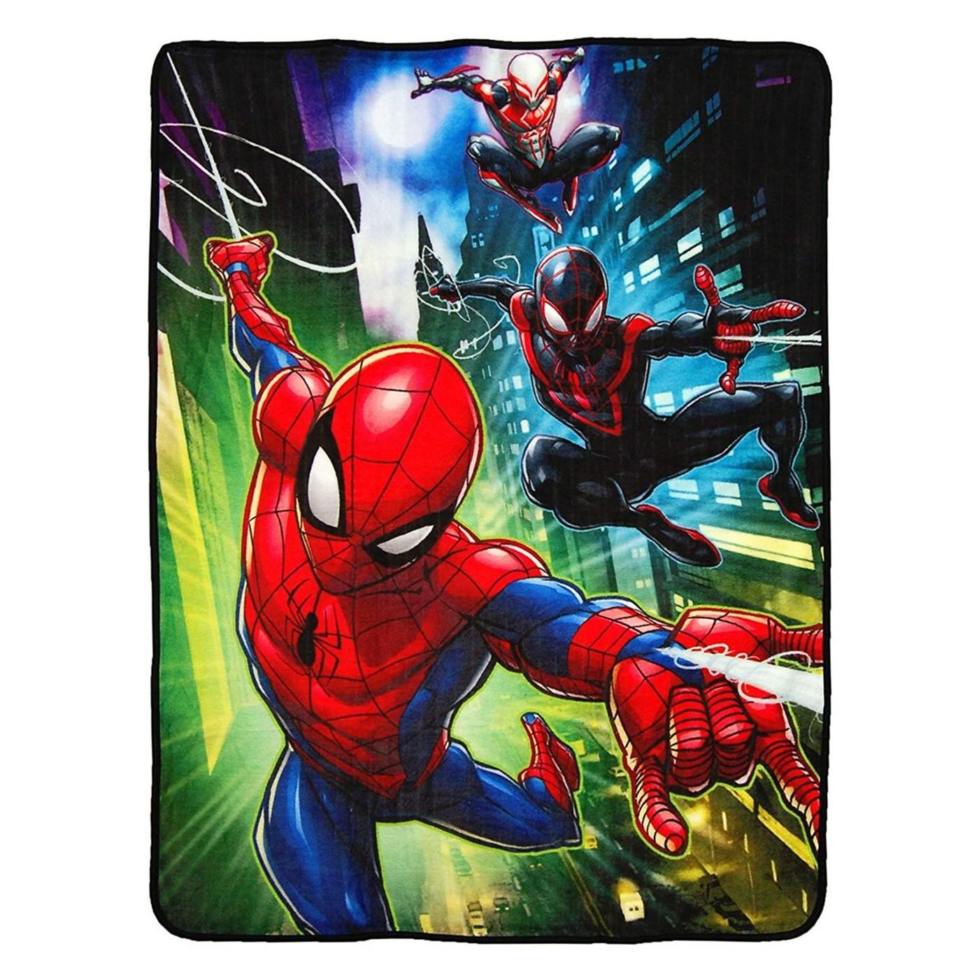 Spider-Man Raschel Throw