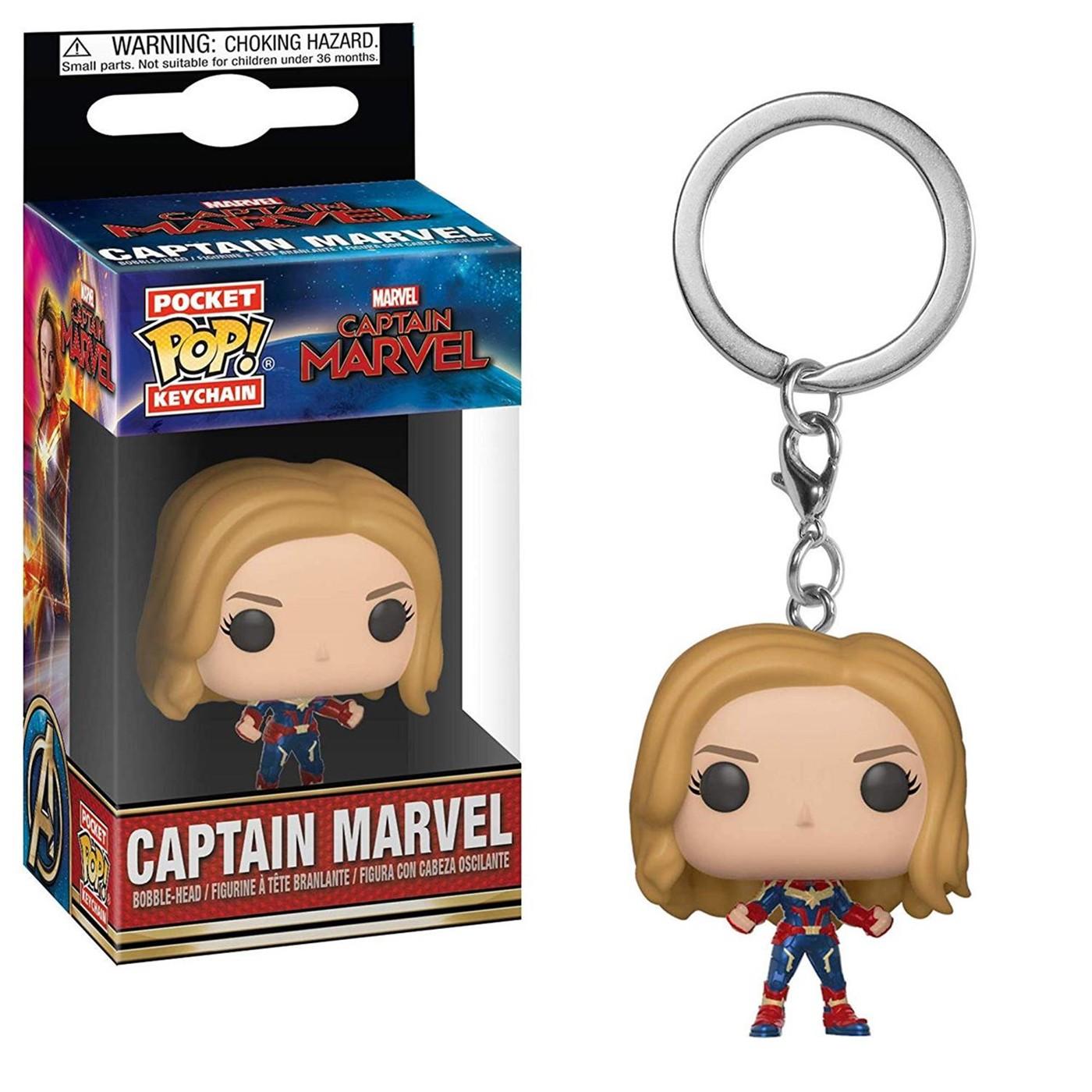 Pop! Keychains: Marvel - Captain Marvel - Captain Marvel
