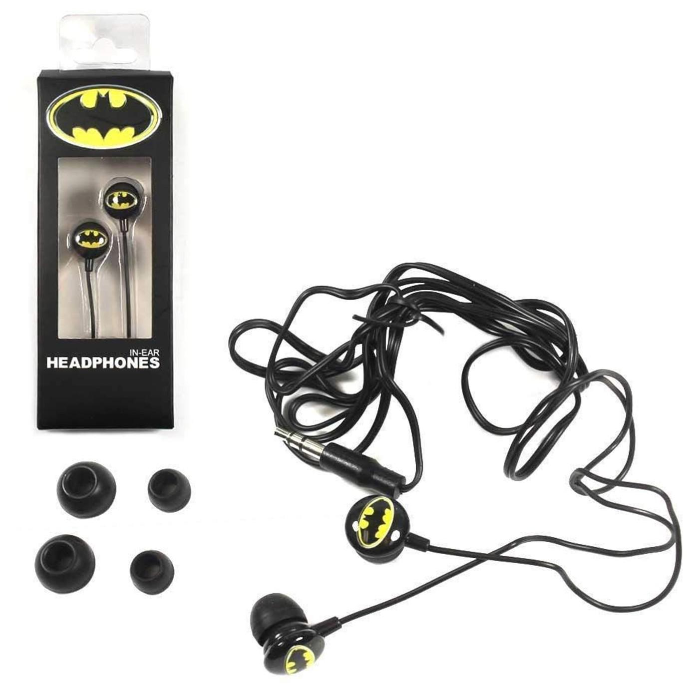 Batman In Ear Headphone Ear Buds