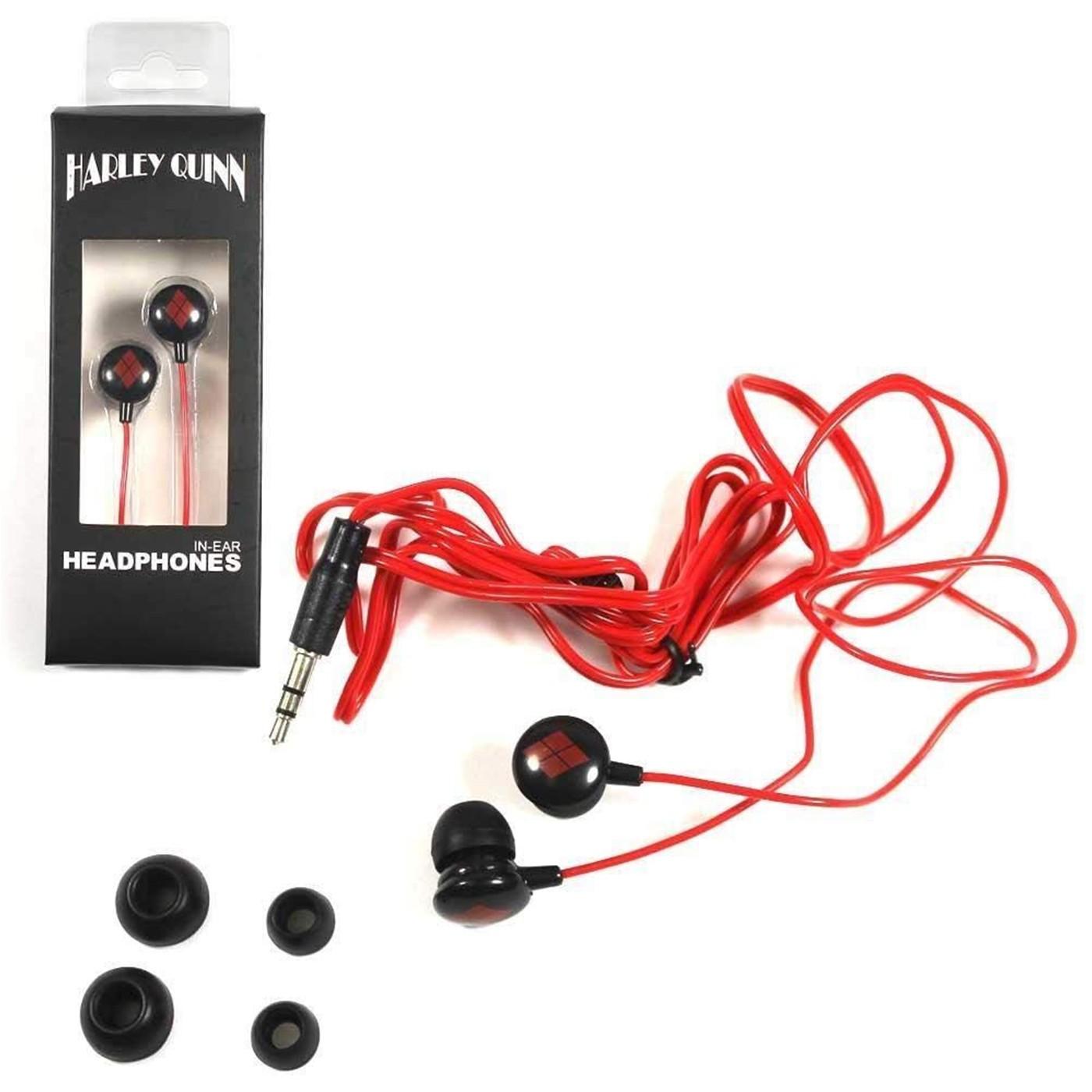 Harley Quinn In Ear Headphone Ear Buds