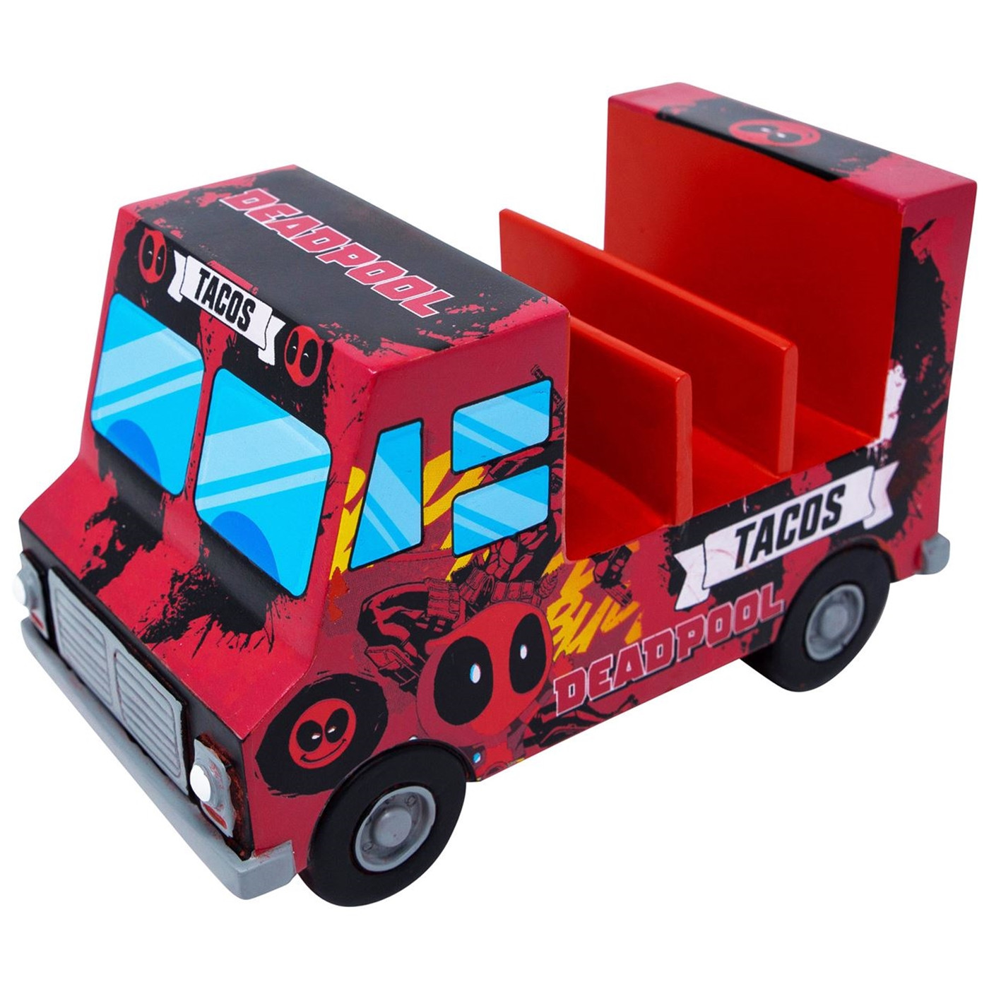 Deadpool Organizer Truck - Safe for Food or Whatever Else