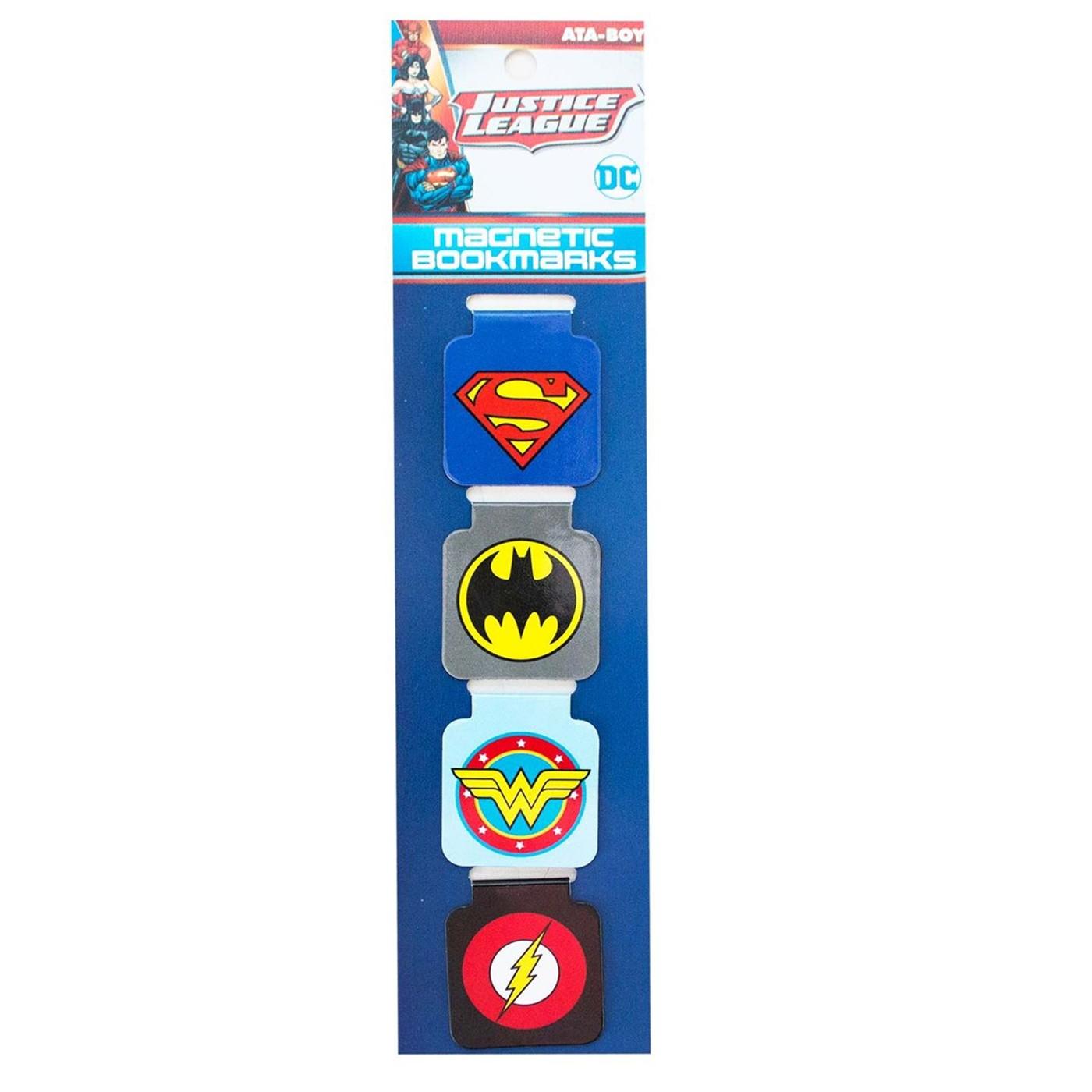 DC Logo's Magnetic Bookmark Set