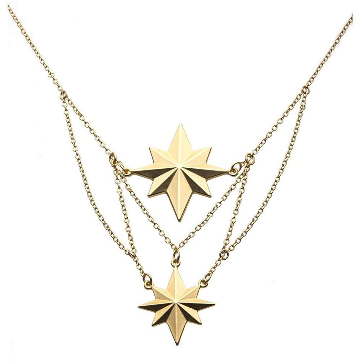 Captain Marvel Movie Star Tier Necklace