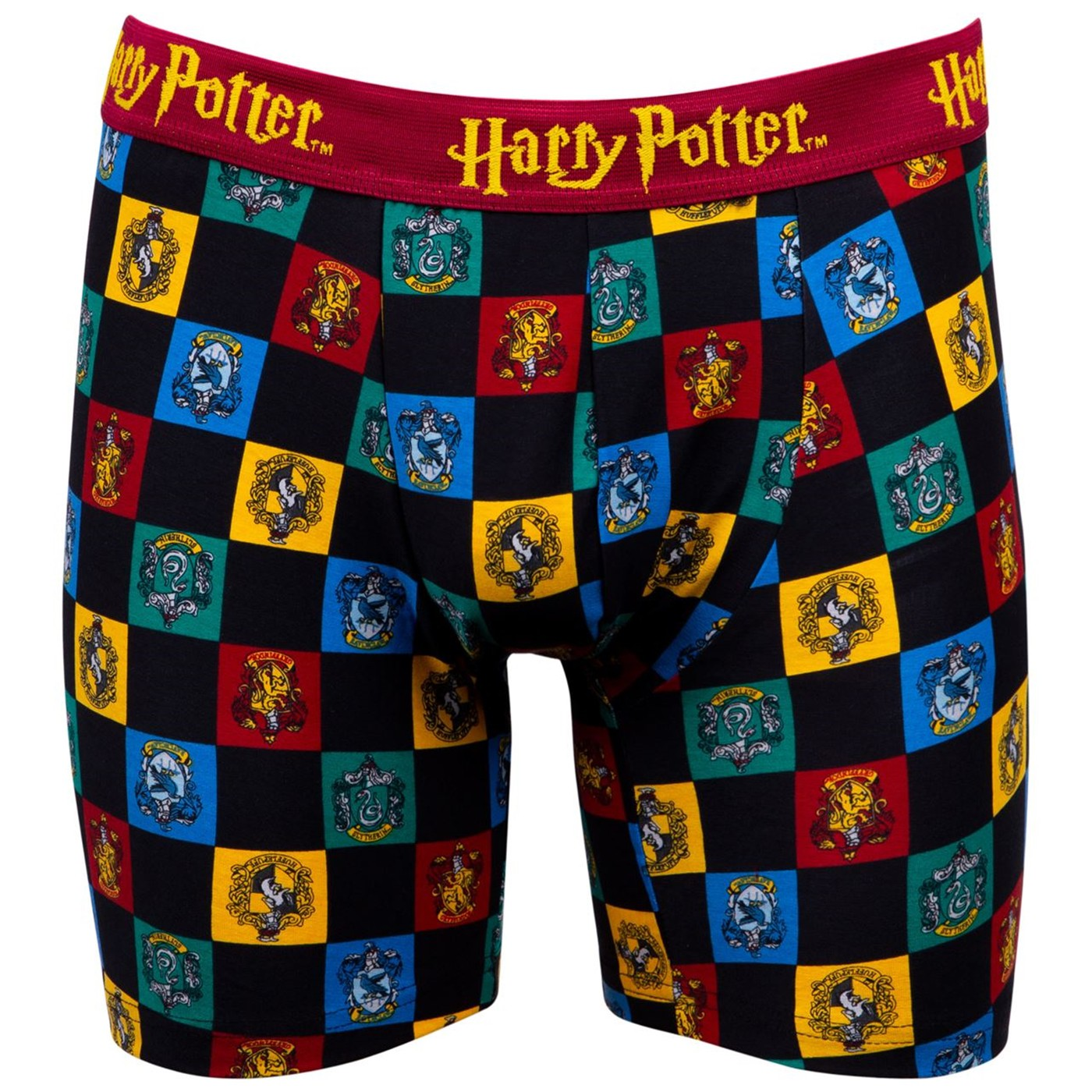 Harry Potter House Crests Boxer Briefs