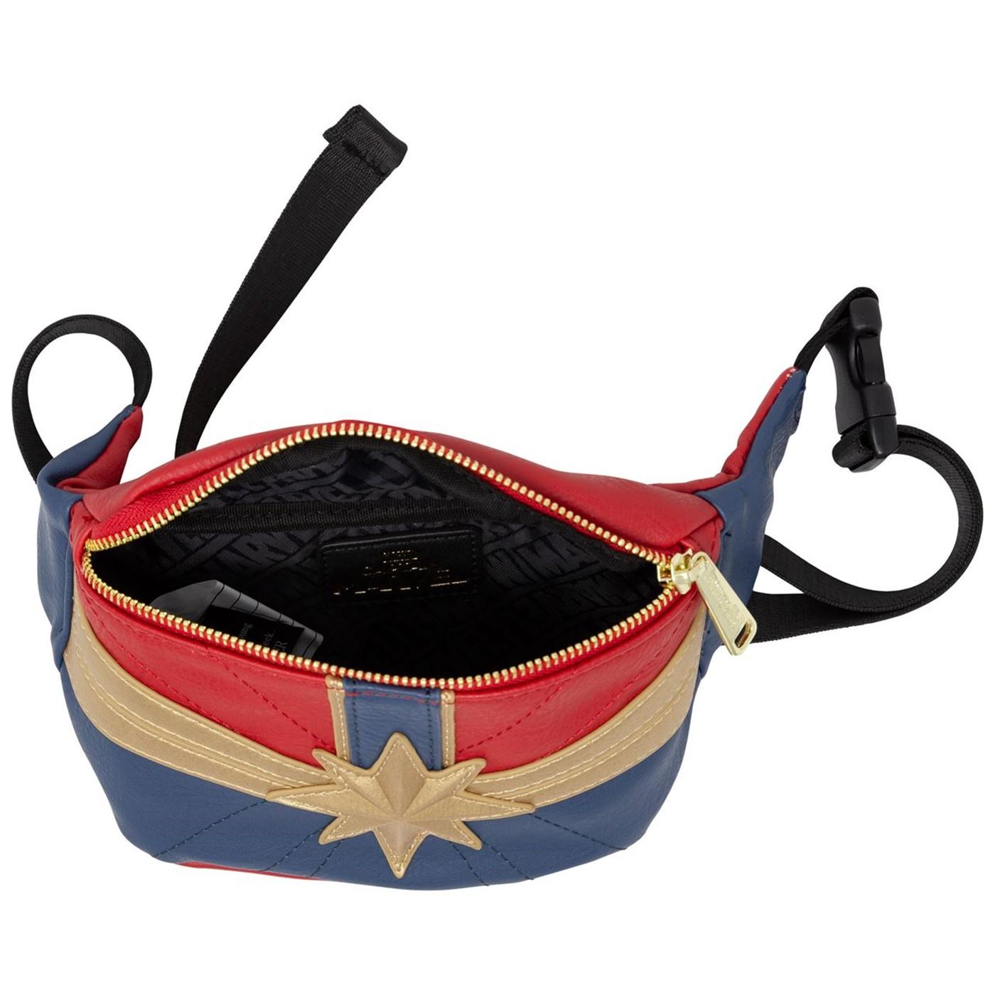 Captain Marvel Movie Costume Fanny Pack