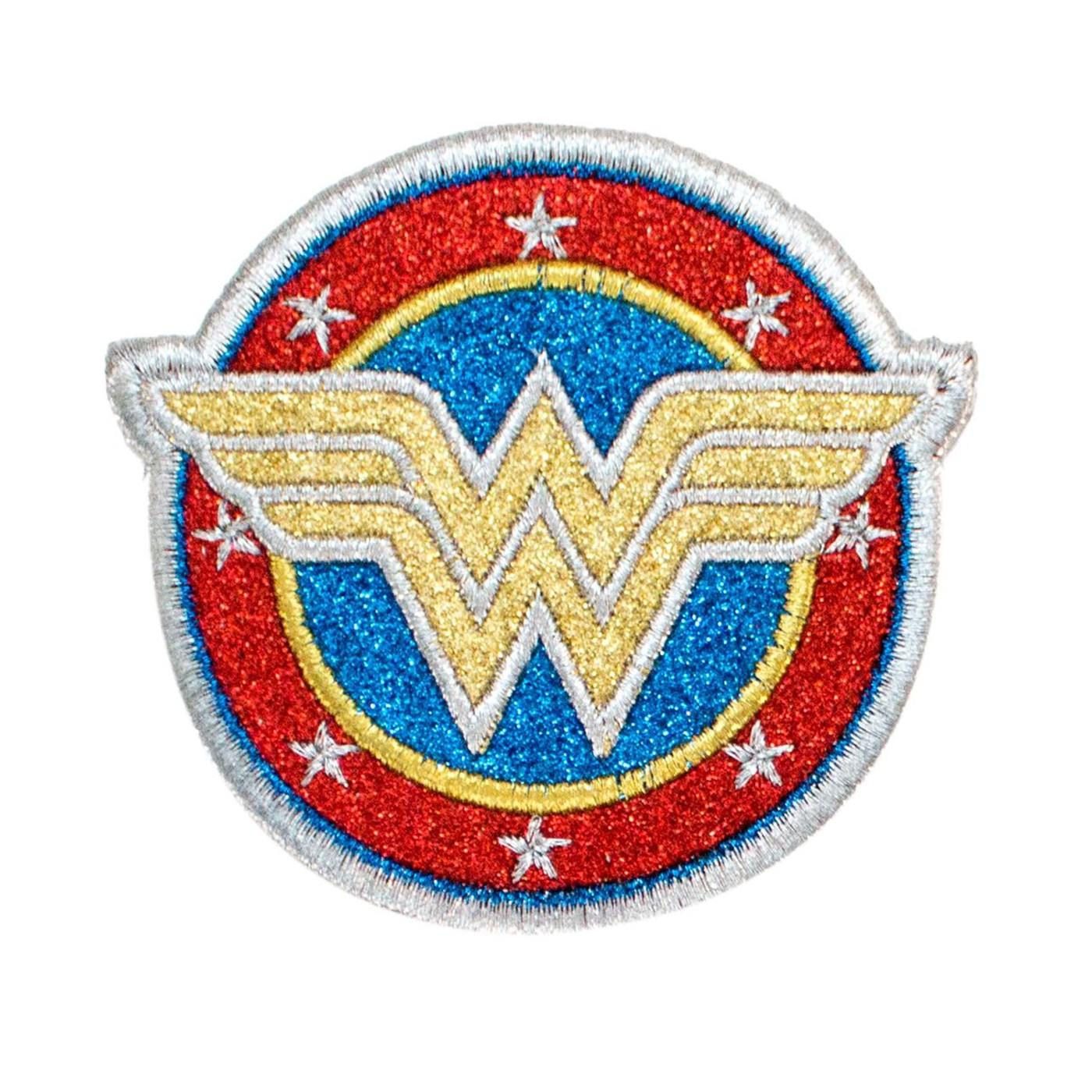 Wonder Woman Symbol Gitter Patch