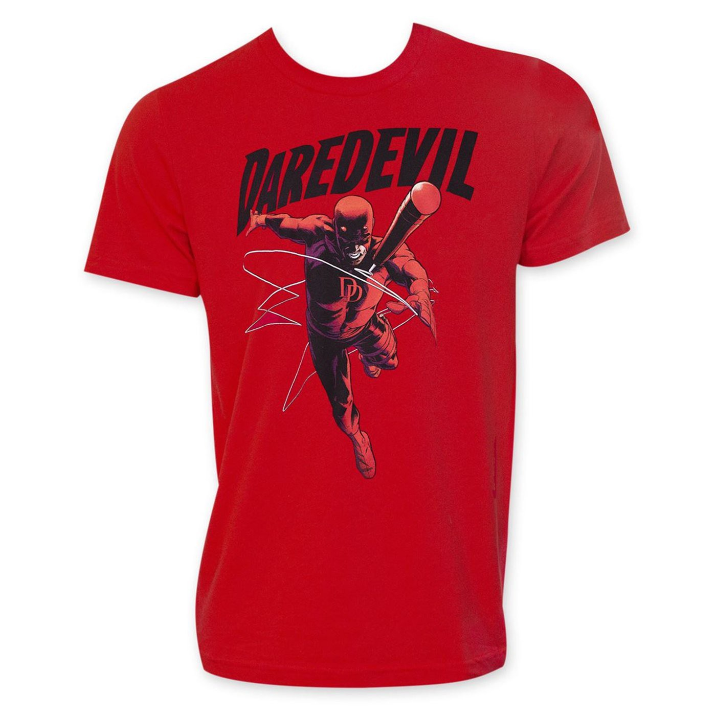 Daredevil Attack Red Men's T-Shirt