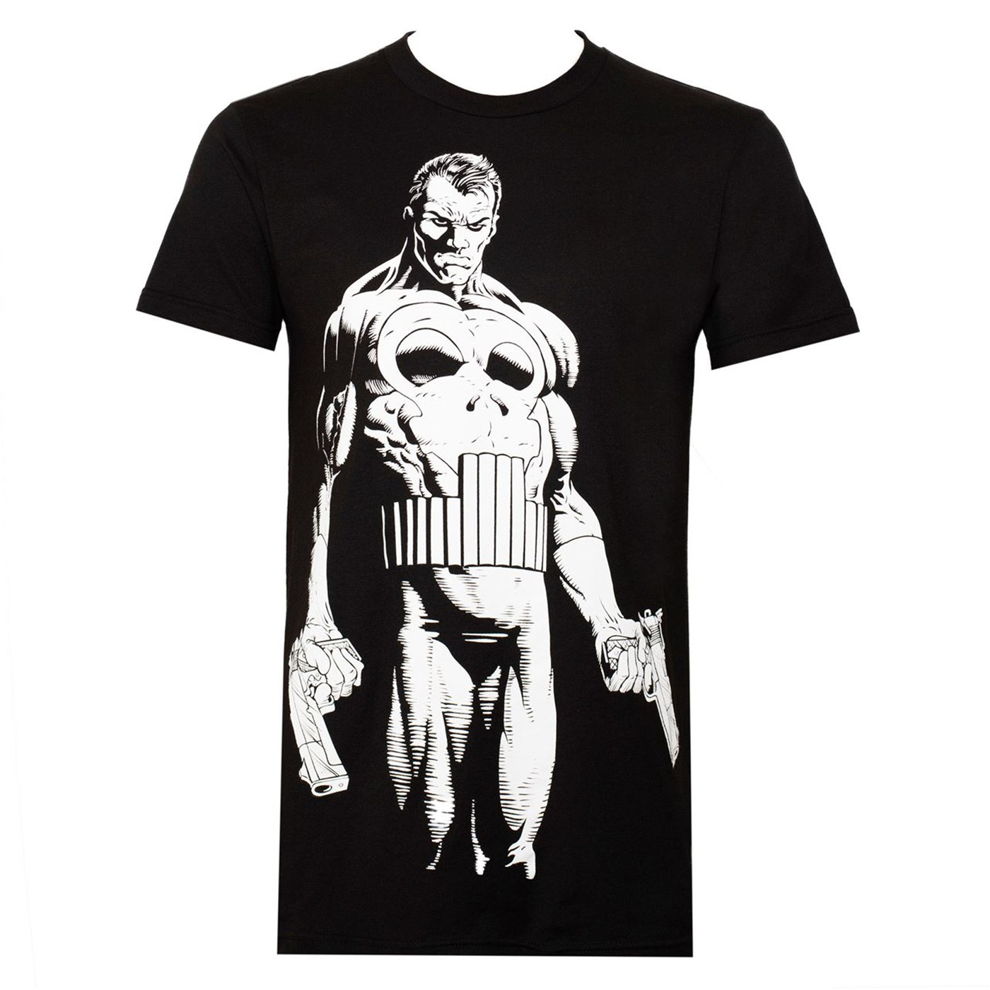 Punisher The Big Nothing Men's Black T-Shirt
