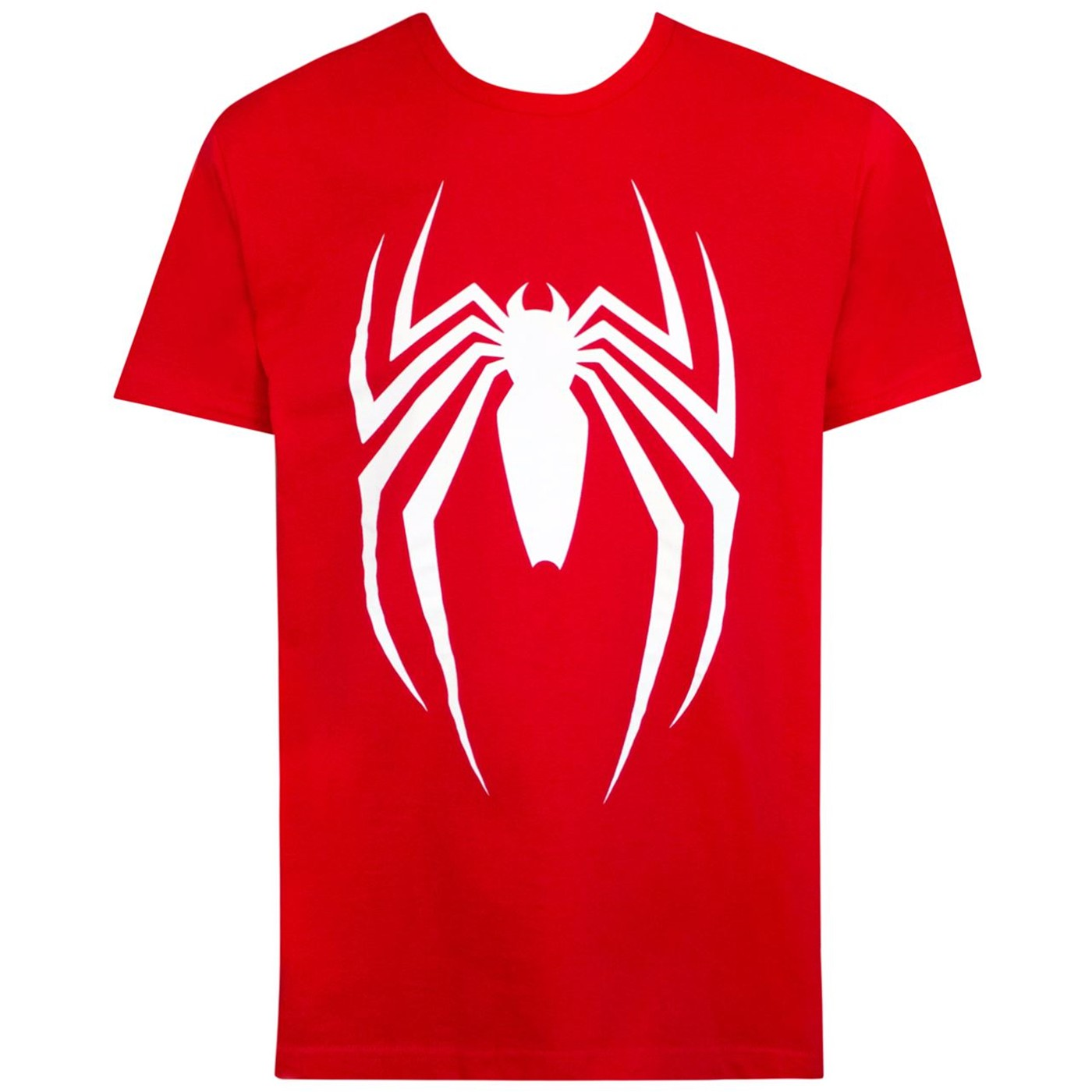 Spider-Man Video Game Logo Red Men's T-Shirt