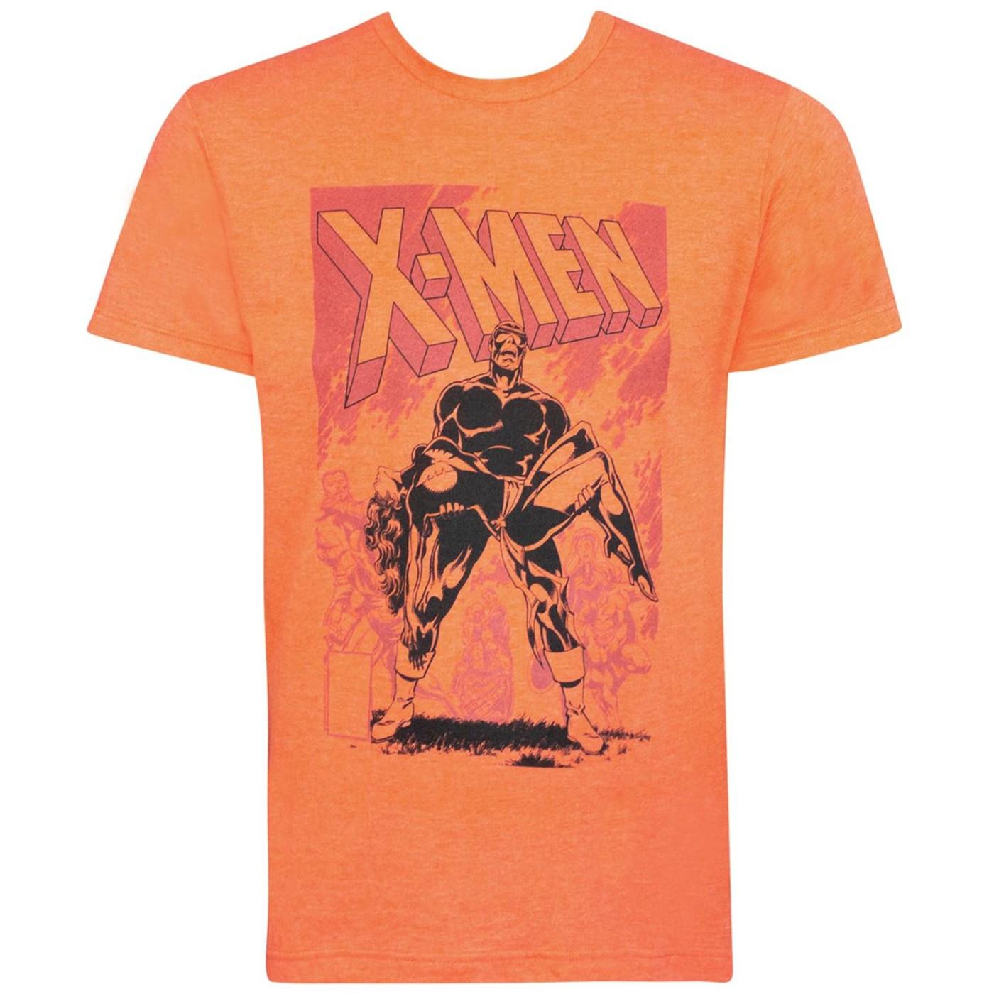X-Men Death of Phoenix Orange Men's T-Shirt