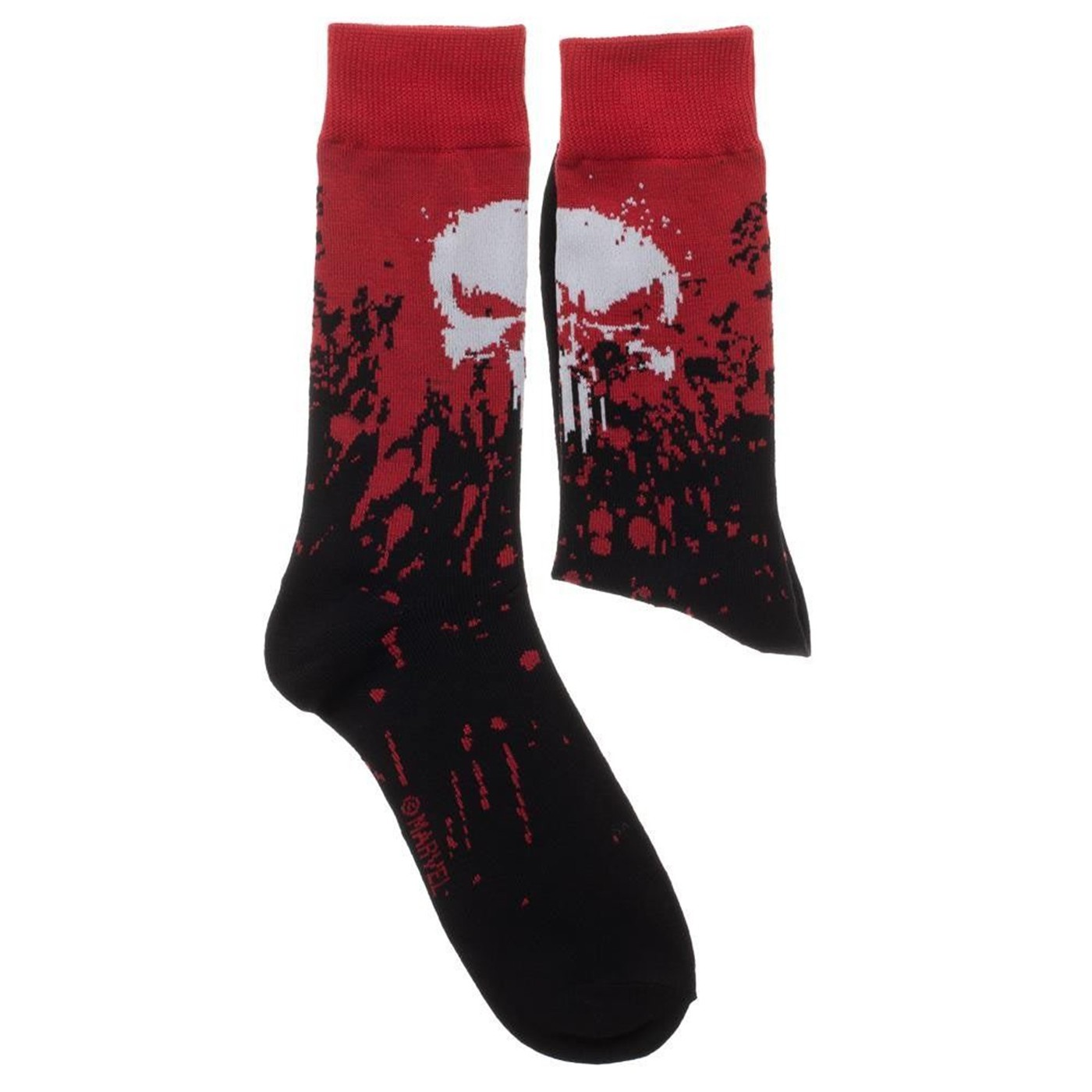 Marvel Punisher 2 Pack Crew Socks