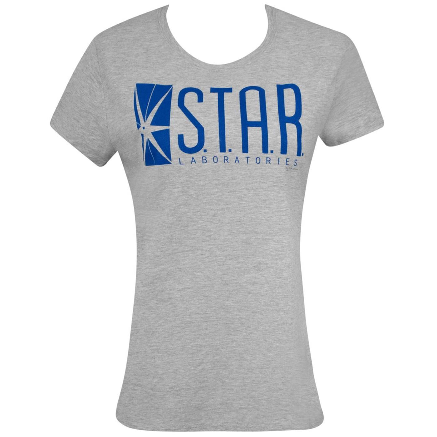 Star Laboratories Grey Women's T-Shirt