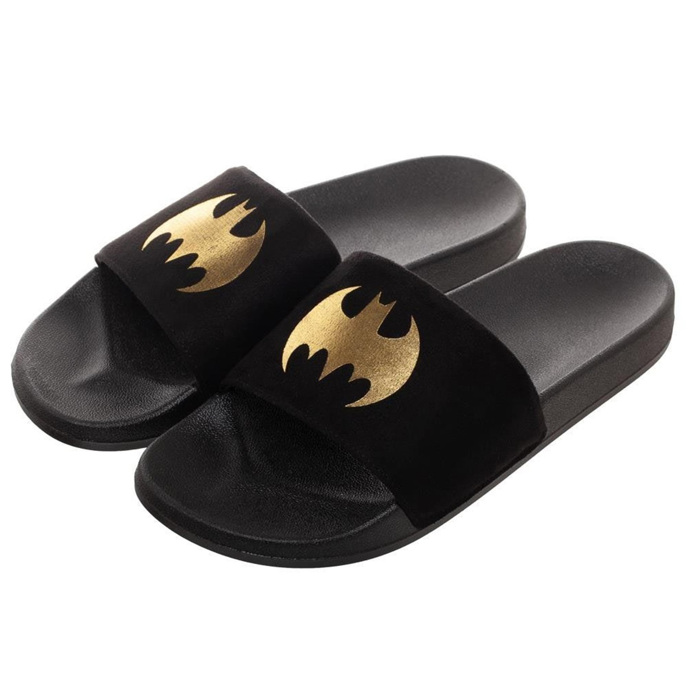 Batman Vegan Suede Slide Sandals