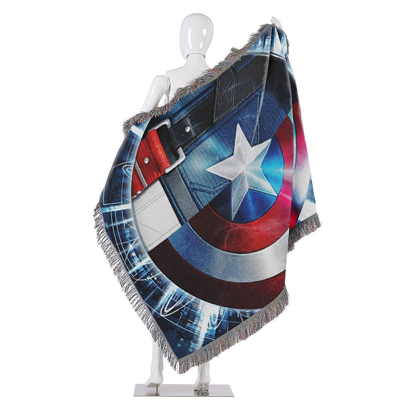Captain America Star Agent Blanket