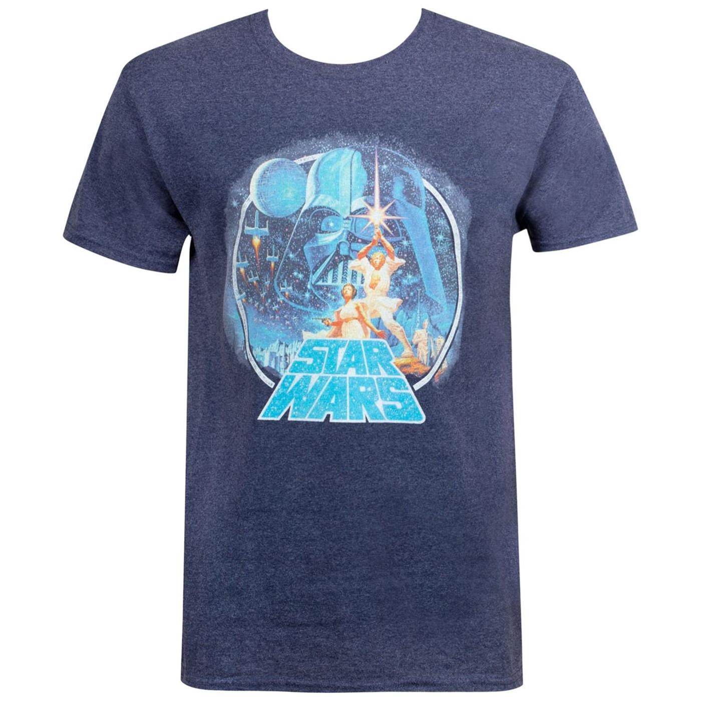 Star Wars Classic Scene Circle Men's T-Shirt