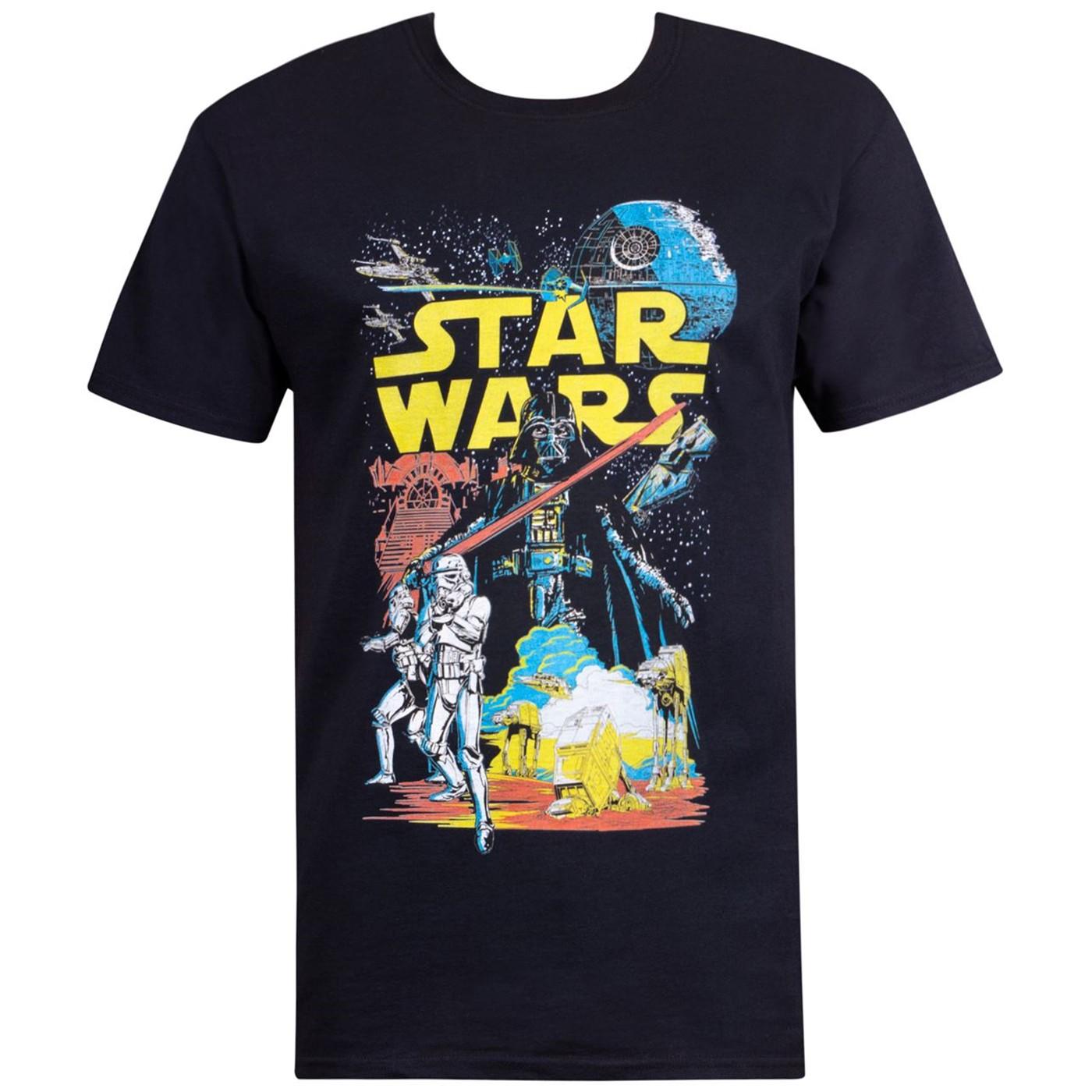 Star Wars Galactic Battle Men's T-Shirt