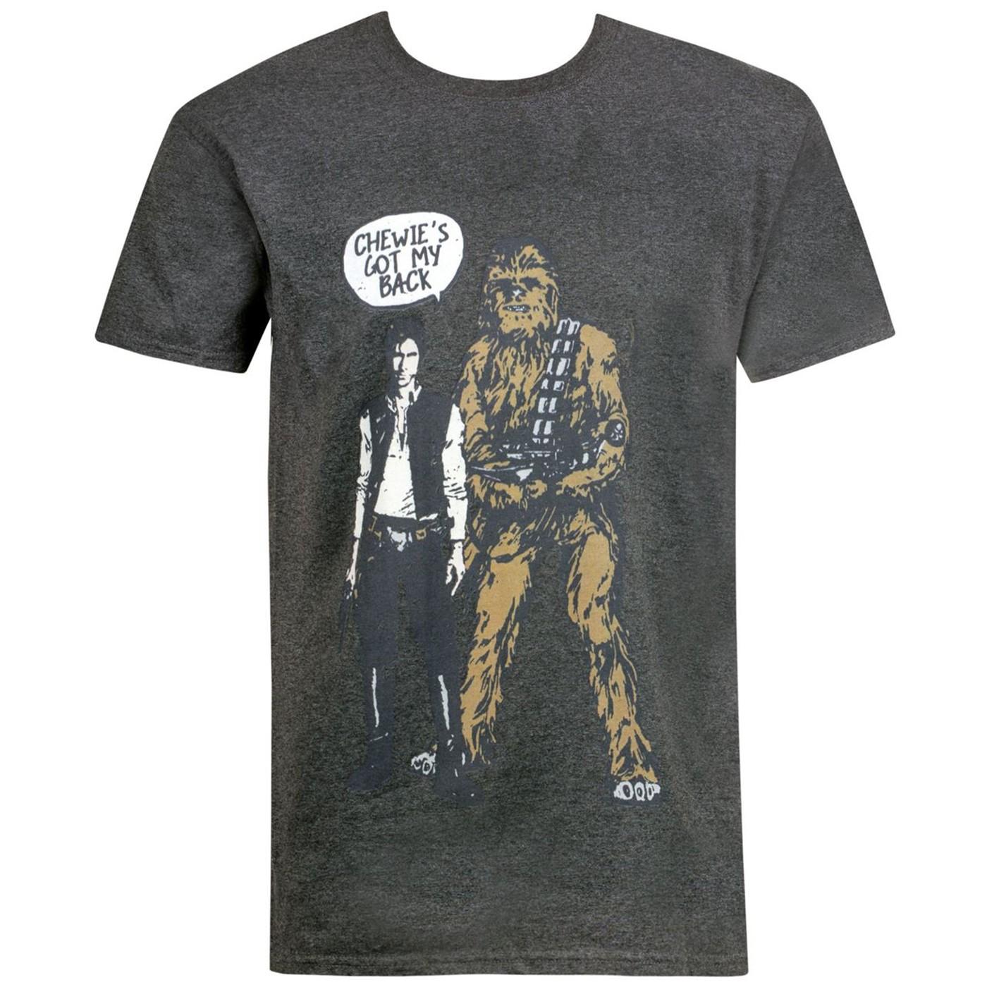 Star Wars Chewy's Got My Back Men's T-Shirt