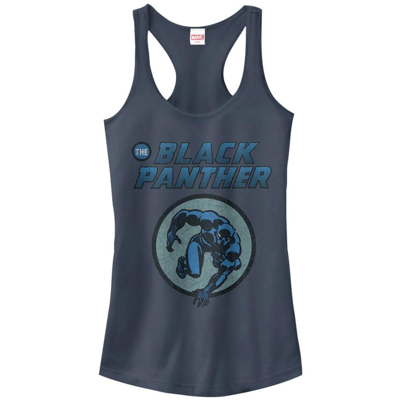 Black Panther Comic Circle Women's Tank Top