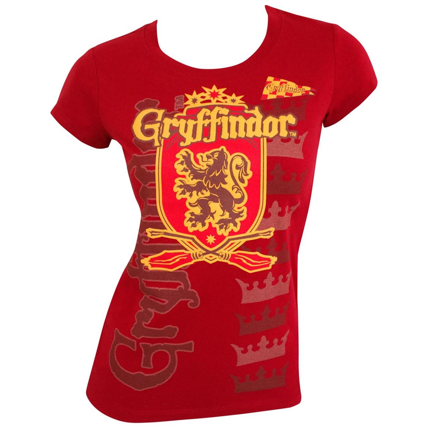 Harry Potter Team Gryffindor T-Shirt