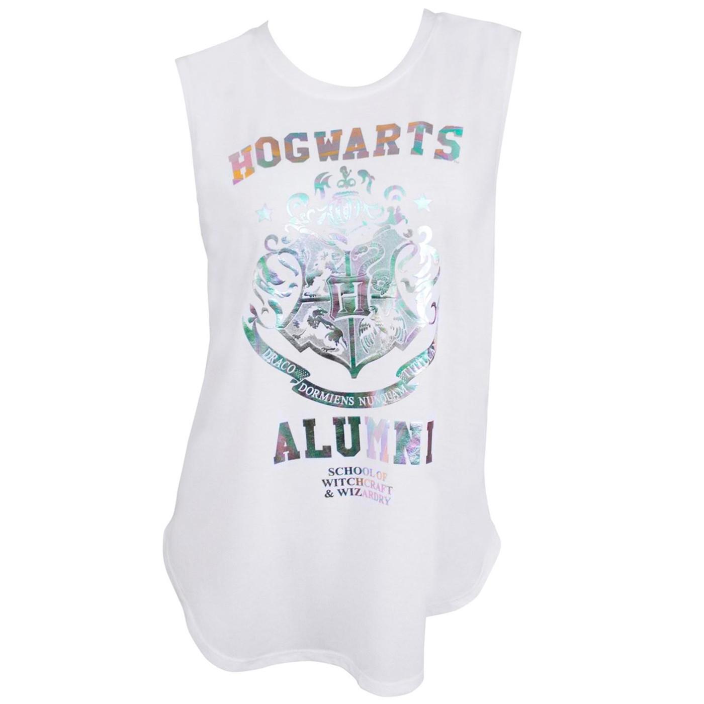 Harry Potter Hogwarts Alumni Rainbow Foil T-Shirt