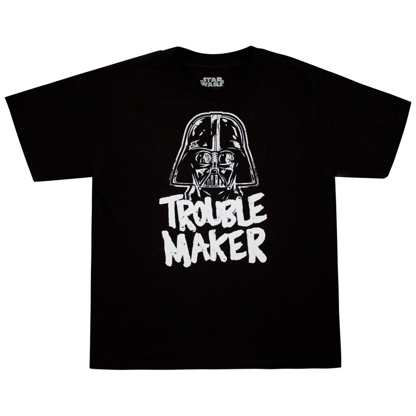 Star Wars Darth Vader Trouble Maker Toddler T-Shirt
